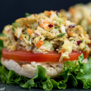 Open Faced Skinny Tuna Melt - Karyl's Kulinary Krusade