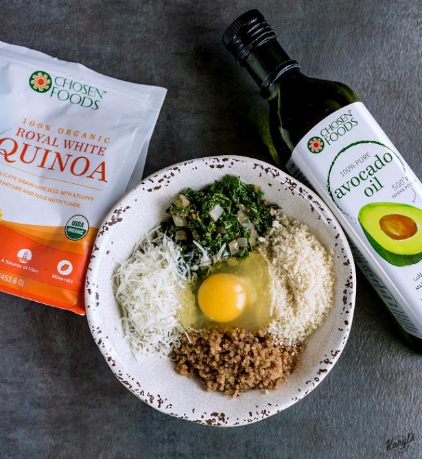 Kale and Quinoa Patties - Karyl's Kulinary Krusade