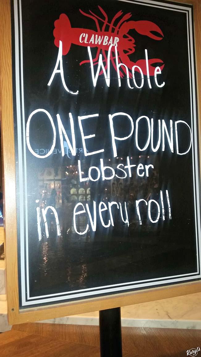 Lobster Me, Las Vegas - Karyl's Kulinary Krusade