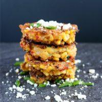 Corn, Zucchini and Red Pepper Cakes Recipe