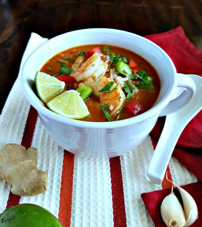 Thai Shrimp Soup - Karyl's Kulinary Krusade