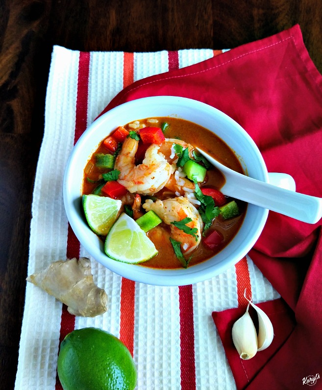 Thai Shrimp Soup - Karyl's Kulinary Krusade