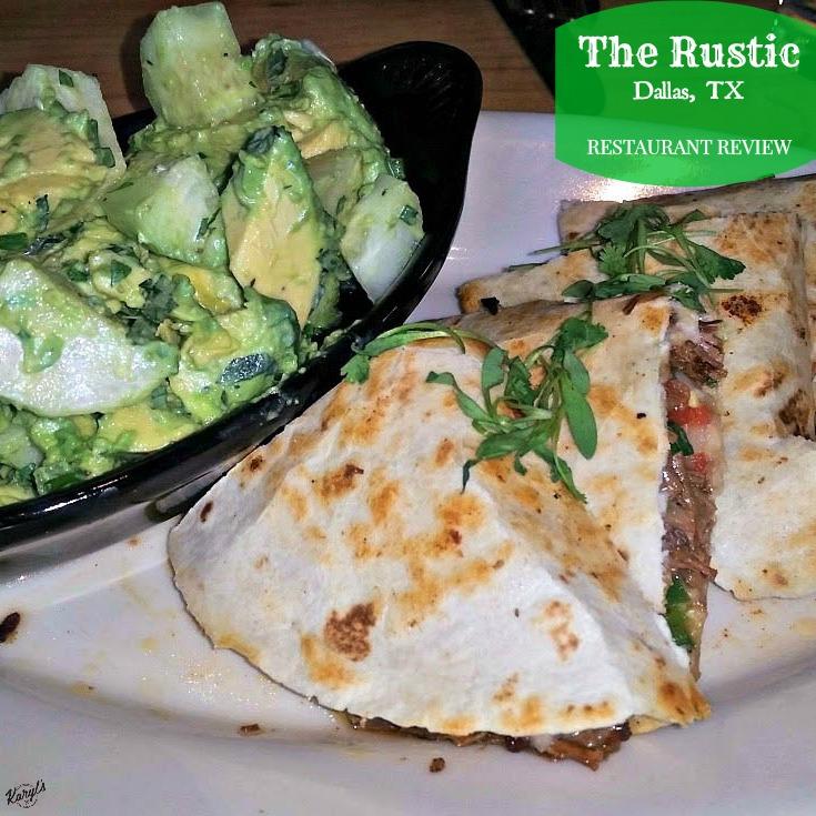 The Rustic, Dallas TX - Karyl's Kulinary Krusade