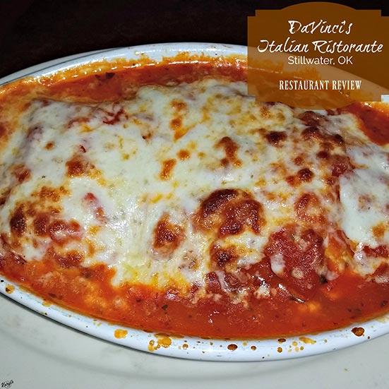 DaVinci's Italian Ristorante, Stillwater OK - Karyl's Kulinary Krusade