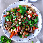 Hoisin Pork and Rice Noodle Stir Fry - Karyl's Kulinary Krusade