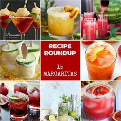 Recipe Roundup: Margaritas