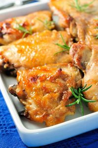 Maple-Glazed-Garlic-Chicken-Thighs
