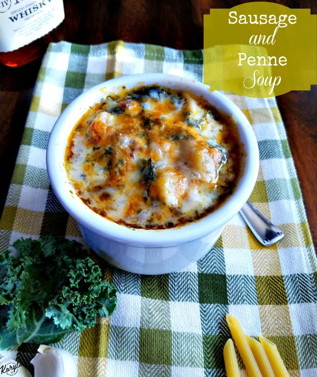 Sausage and Penne Soup - Karyl's Kulinary Krusade
