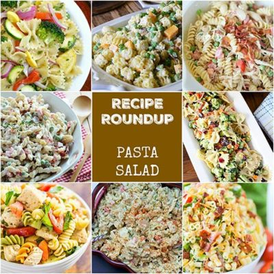 Recipe Roundup: Pasta Salad