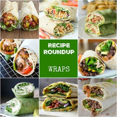 Recipe Roundup: Wraps