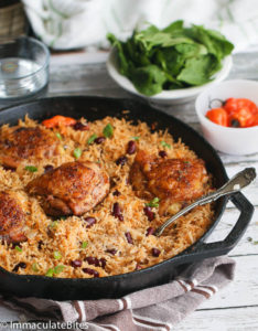 One-Pot Caribbean Jerk Chicken & Rice by Immaculate Bites