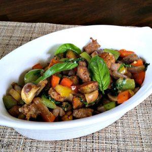 Savory Sausage Hash - Karyl's Kulinary Krusade