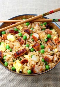 BBQ Pork Fried Rice by Mantitlement