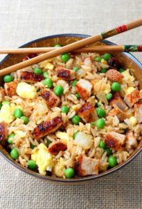 BBQ Pork Fried Rice by Mantitlement