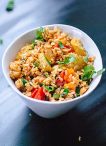 Thai Pineapple Fried Rice by Cookie & Kate