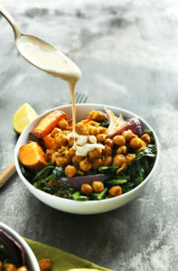 Sweet Potato and Black Bean Quinoa Bowl by Spoonful of Flavor
