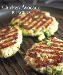 Chicken Avocado Burger by Laughing Spatula
