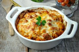 Dump & Bake Meatball Casserole by The Seasoned Mom