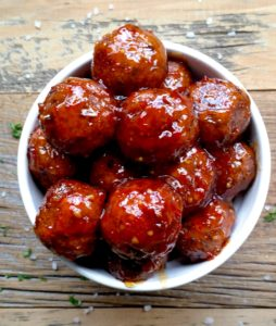 Black Bean and Tofu Meatballs by Pretty Practical Pantry