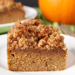 Paleo Pumpkin Coffee Cake by Jay's Baking Me Crazy