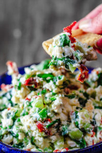 Mediterranean Feta Cheese Dip by The Mediterranean Dish