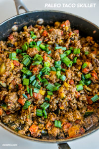 Paleo Taco Skillet by Sweet C's Designs