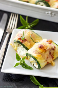 Zucchini Lasagna Rolls by Recipe Runner