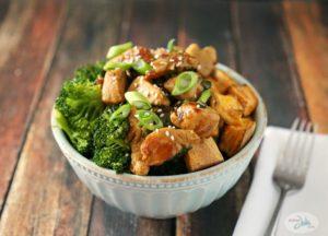 Chicken Teriyaki Bowl by Sober Julie
