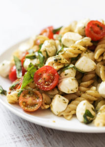 Caprese Pasta Salad by Pip & Ebby
