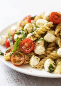 Caprese Pasta Salad by Pip & Ebby