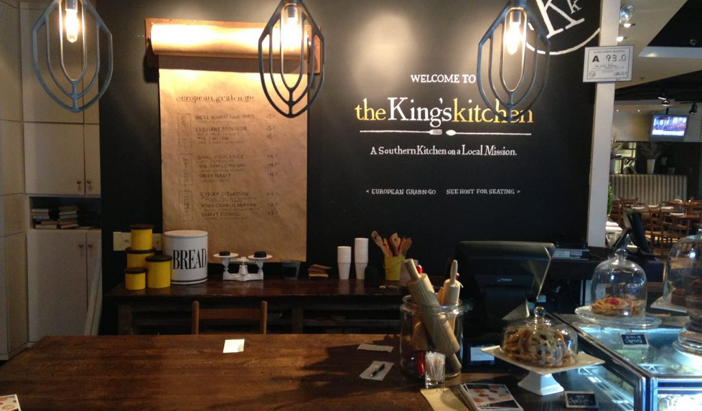 The King's Kitchen & Bakery, Charlotte NC