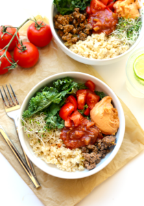 Superfood Taco Bowl by Fit Foodie Finds