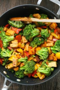 Quick Veggie Tofu Stir Fry by Eat Good 4 Life