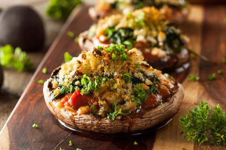 Recipe Roundup: Stuffed Mushrooms