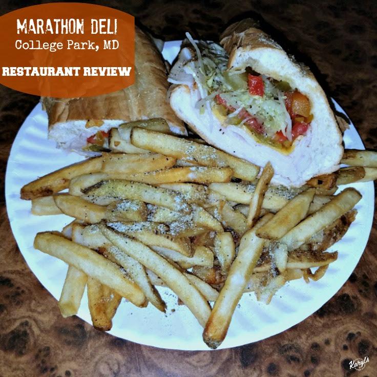 Marathon Deli, College Park MD - Karyl's Kulinary Krusade