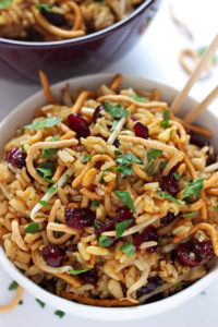 Crunchy Asian Rice Salad by Pass the Challah