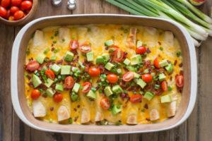 Breakfast Enchilada Bake by Lovely Little Kitchen