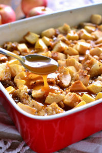Caramel Apple French Toast Bake by Lemon Tree Dwelling