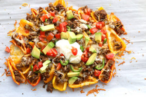 Mini Pepper Nachos by All Day I Dream About Food