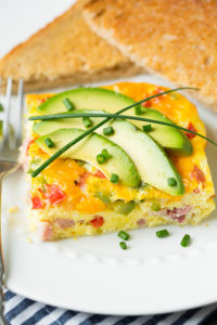 Baked Denver Omelet by Cooking Classy