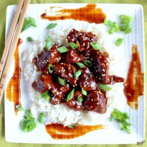 Baked General Tso's Chicken - Karyl's Kulinary Krusade