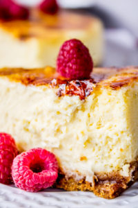 Creme Brulee Cheesecake by The Food Charlatan