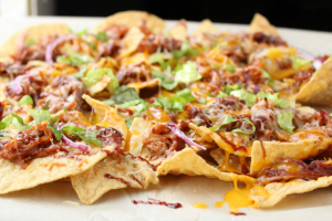 Pulled Pork Nachos by Family Fresh Meals