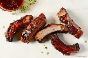 Red Wine Barbecue Pork Ribs by From Brazil to You