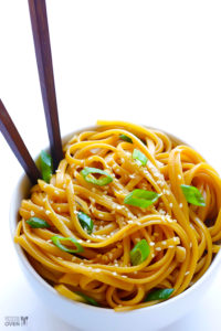 Sesame Noodles by Gimme Some Oven