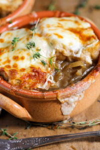 Slow Cooker French Onion Soup by Spend with Pennies