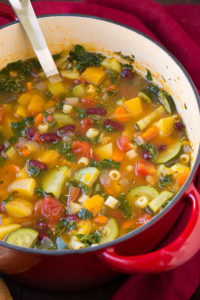 Autumn Minestrone by Cooking Classy