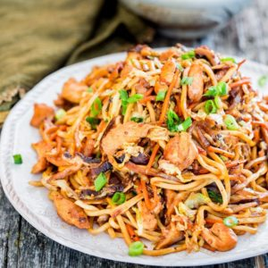 Chicken Lo Mein by Jo Cooks