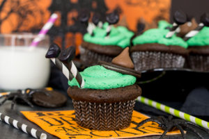 Melted Witch Cupcakes by Sugar and Soul