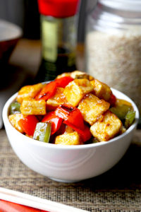 Sweet and Sour Tofu by Pickled Plum